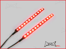 Super Bright Stick-on Auxiliary LED Brake Light / Rear Fog Light Strips