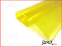High Grade Self Adhesive Yellow Headlight Protective Film - 45cm x 37cm