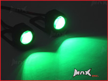 Super Bright Green LED Mirror Mount Fog / Drl Lights