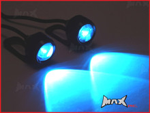 Super Bright Blue CREE LED Mirror Mount Fog / Drl Lights