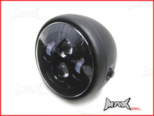 7.7 INCH High Quality Projector LED Matte Black Metal Headlight