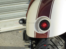 "2"" Cafe Racer Flush Mount LED Stop / Tail Light"