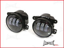 "4"" Super Bright 30w Cree LED Fog Lights - Fits Jeep Wrangler 2007 - 2015"