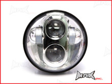 "5 3/4""  High Quality LED Quad Projector Headlight Insert - Chrome Face"