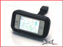 IPHONE 4 / 5 Motorcycle Handlebar + Mirror Mount Waterproof Holder