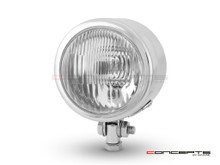"4.5"" Chrome Metal Custom Headlight - 12v / 55w"