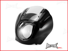 Harley Sportster / Dyna Detachable Quarter Headlight Fairing Kit