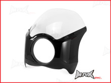 Universal Headlight Fairing For Harley Wide-Glide & Mid-Glide