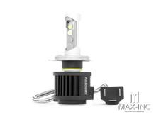 Super Bright Aozoom LED H4 Headlight Bulb - Hi / Low Beam - Plug n Play