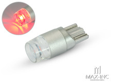 12v / T10 W5W LED Projector Bulb - Red