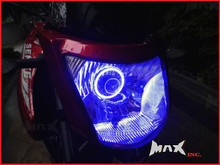 7cm Blue Super Bright LED Angel Eye Halo Ring
