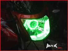 7cm Green Super Bright LED Angel Eye Halo Ring
