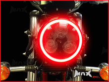 14cm Red Super Bright LED Angel Eye Halo Ring