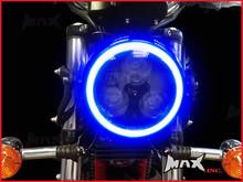 14cm Blue Super Bright LED Angel Eye Halo Ring