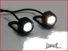 Super Bright White 3w CREE LED Mirror Mount Fog / Drl Lights