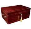 Prestige Import Group MonteCarlo 120-Cigar Humidor - Exterior with Key