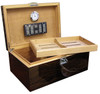 Prestige Import Group Princeton Ebony 130-Cigar Humidor - Interior