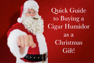 How To Buy A Cigar Humidor As A Christmas Gift