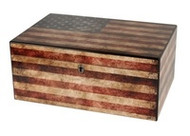 Now Back In Stock: The Old Glory Humidor