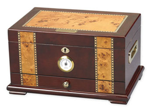 The Solana Desktop Humidor - 100 Cigars