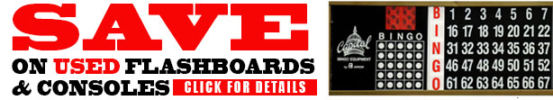 Save on all used flashboards and consoles in July
