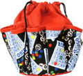 10-Pocket Classic Bingo Card Print #1 Bag (Red)