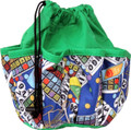 10-Pocket Classic Bingo Card Print #2 Bag (Green)