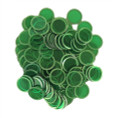 Magnetic Chips - Green (100 count)