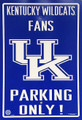 The University of Kentucky Parking Sign
