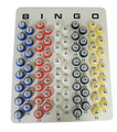 Double-Sided Multi-Colored Bingo Balls