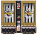 Nevada Gold Fortune Ticket Dispenser - 8 Column (bill and display)