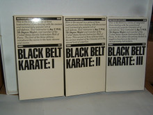 BLACK BELT KARATE VOL 1, 2 & 3  W/ JAY T. WILL