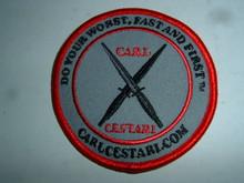 Carl Cestari Embroidered Patch