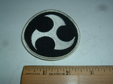 Throwing knives embroidered patch (1)