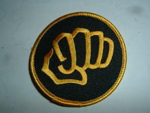 Fist Embroidered Patch