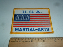 USA MARTIAL ARTS FLAG Embroidered Patch