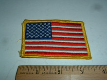 USA FLAG Embroidered Patch (2)