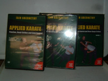 APPLIED KARATE VOL 1, 2, 3  W/ IAIN ABERNETHY