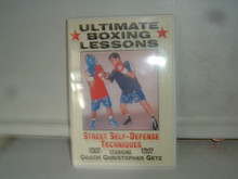 ULTIMATE BOXING LESSONS STREET SELF-DEFENSE W/ GETZ