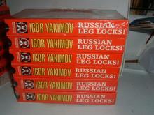 RUSSIAN LEG LOCKS SAMBO 1-6  IGOR YAKIMOV   VHS