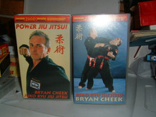 JUKO RYU JIU JITSU W/ BRYAN CHEEK  VOL 1 & 2    VHS