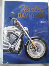 HARLEY DAVIDSON By ALBERT SALADINI  Hardcover Signed