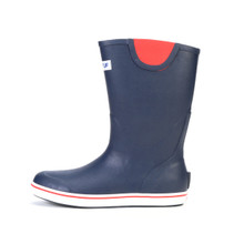 Xtratuf Men's 12 inch Deck Boot Navy-Red