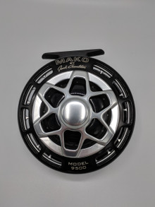 Mako By Jack Charlton 9500 810 Fly Reel Platinum on Black