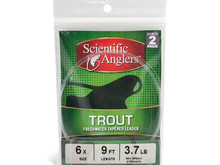CLOSEOUT - Scientific Anglers 9' Trout Leaders 2-Pack