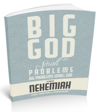 Big God, small problems. small god, BIG PROBLEMS. Book Cover.