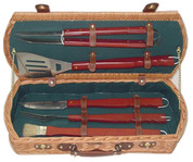 The Skewer Collection BBQ Tools Box