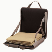 Picnic at Ascot - Folding Lightweight Stadium Seat with Blanket