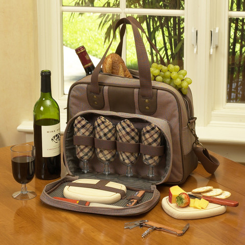 New Hudson - Wine and Cheese Carrier