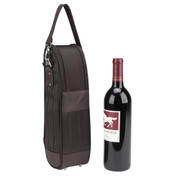 Picnic at Ascot - Rugged Single Wine Bottle Tote